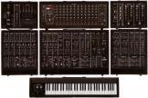 Roland Modular System 700 (incl.3 keyboards)